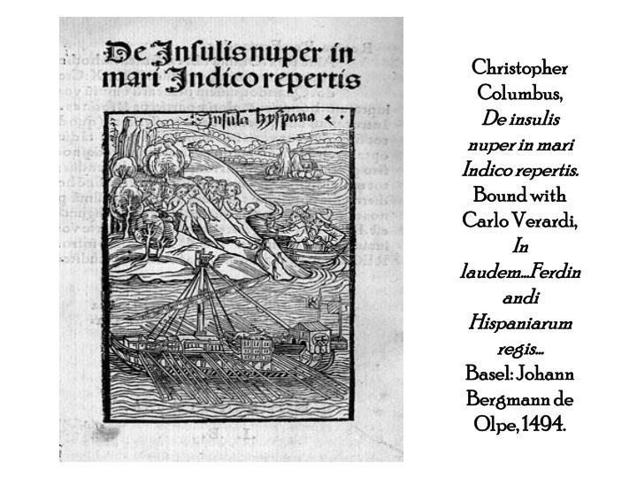 Christopher Columbus,