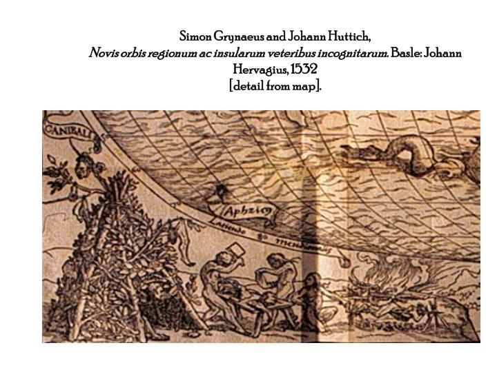 Simon Grynaeus and Johann Huttich,