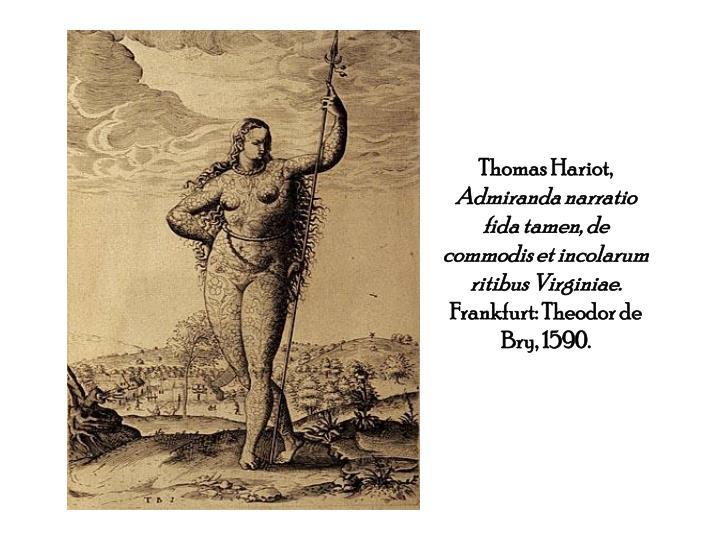 Thomas Hariot,