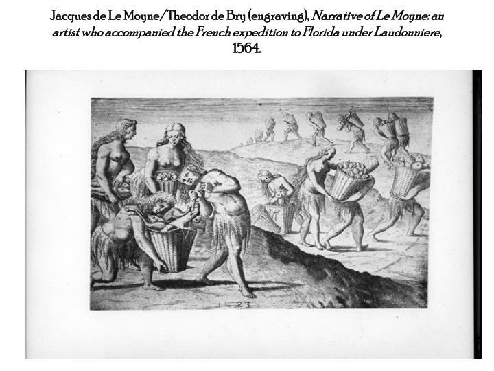Jacques de Le Moyne/Theodor de Bry (engraving),