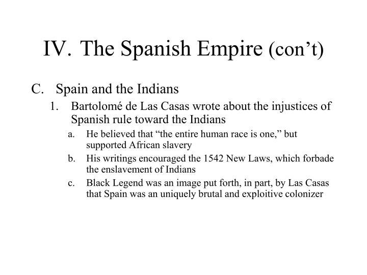 IV.The Spanish Empire