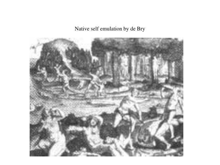 Native self emulation by de Bry