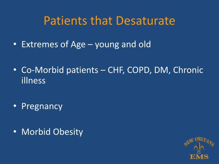 Patients that