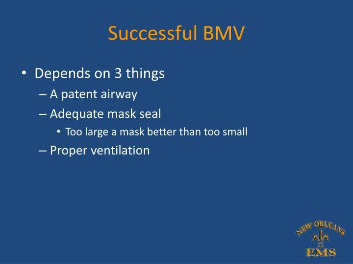 Successful BMV