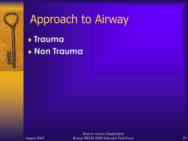 Approach to Airway