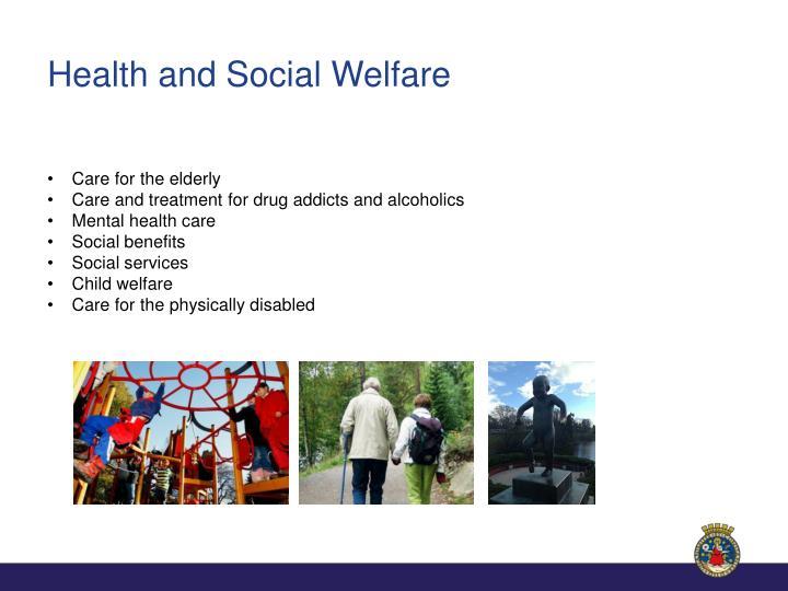 Health and Social Welfare