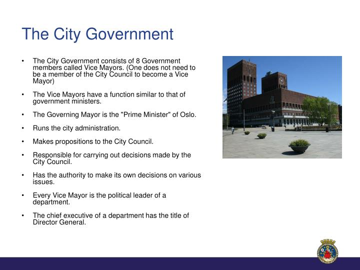 The City Government