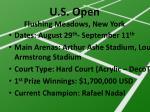 u s open flushing meadows new york