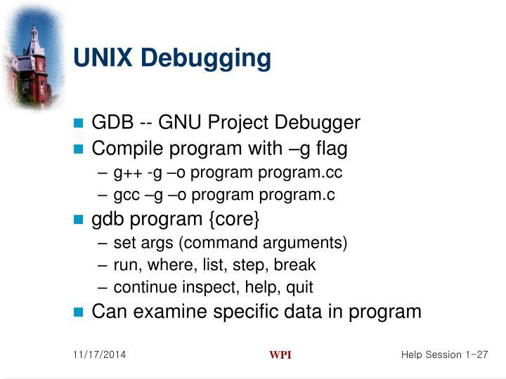 GDB -- GNU Project Debugger