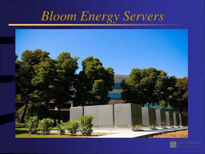 Bloom Energy Servers