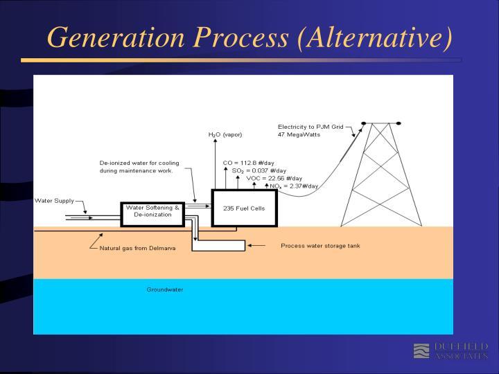 Generation Process (Alternative)