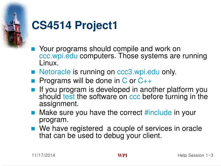 CS4514 Project1