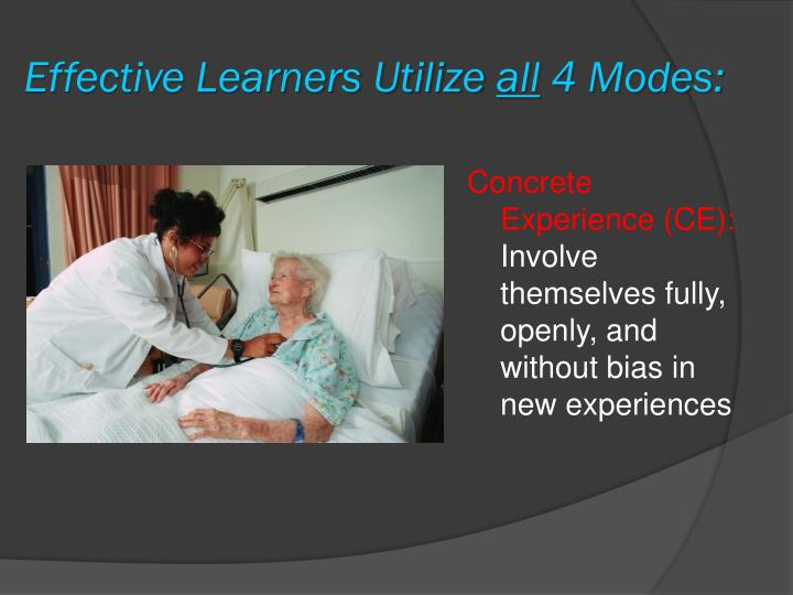 Effective Learners Utilize