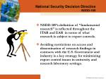 national security decision directive nsdd 1892