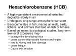 hexachlorobenzene hcb