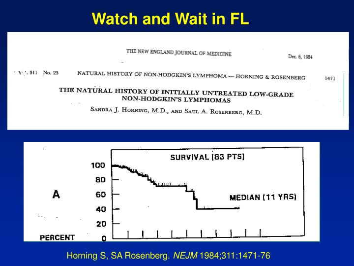 Watch and Wait in FL