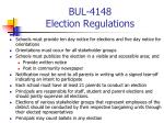 bul 4148 election regulations