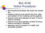 bul 4148 notice procedures