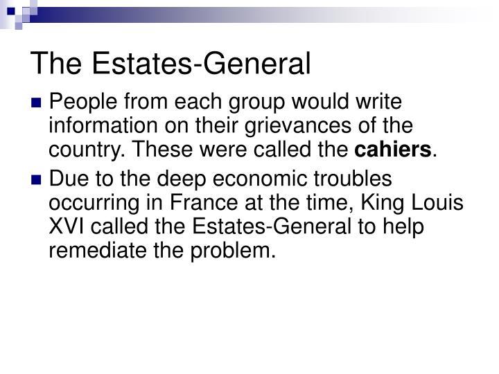 The Estates-General