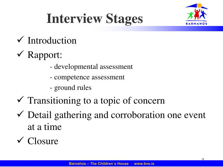 Interview Stages
