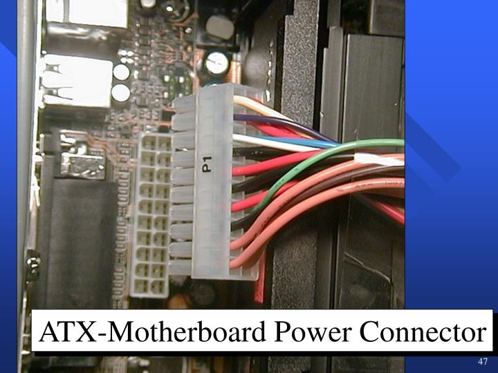 ATX-Motherboard Power Connector