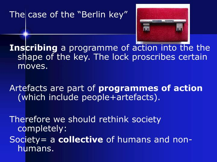 "The case of the ""Berlin key"""
