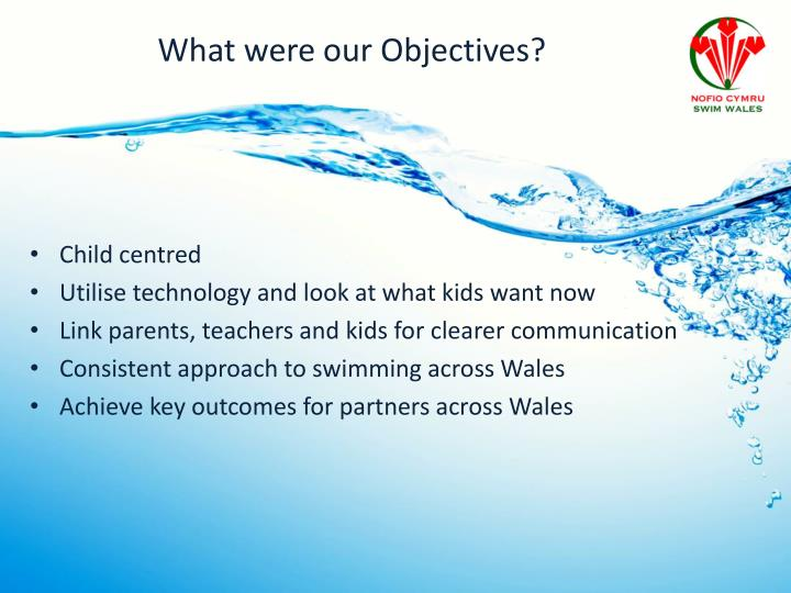 What were our Objectives?