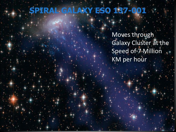 SPIRAL GALAXY ESO 137-001