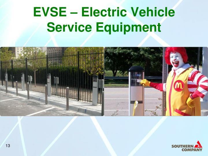 EVSE – Electric Vehicle Service Equipment