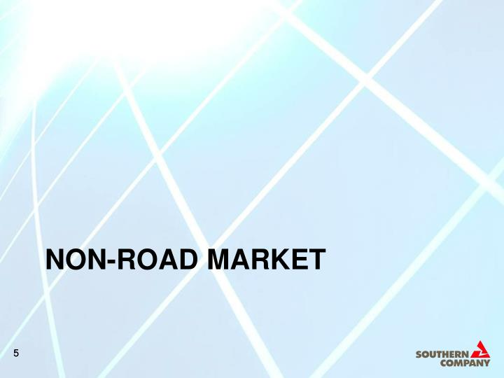 NON-ROAD MARKET