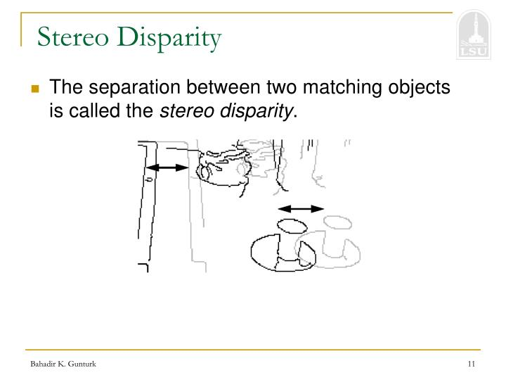 Stereo Disparity