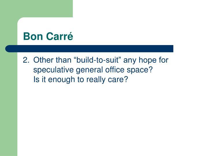 Bon Carr