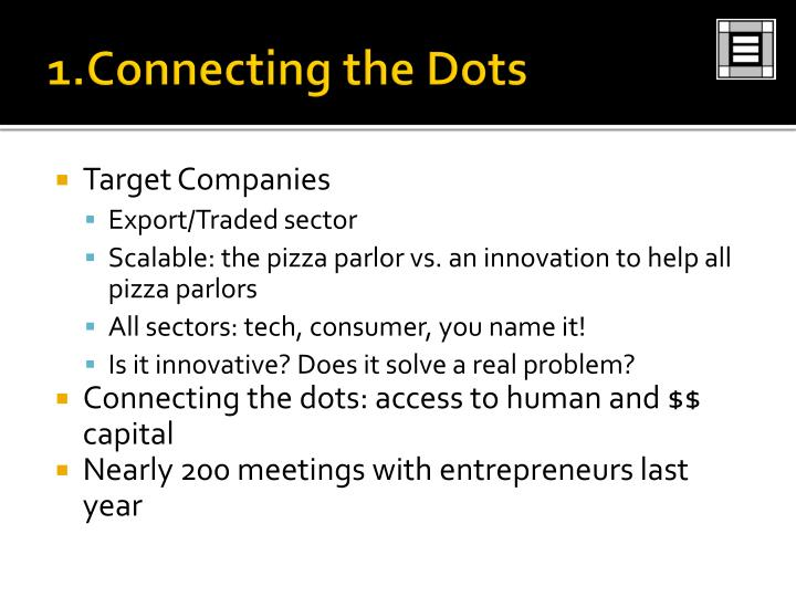 1.Connecting the Dots
