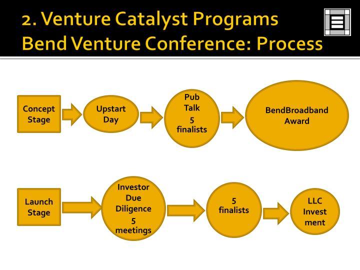 2. Venture Catalyst Programs