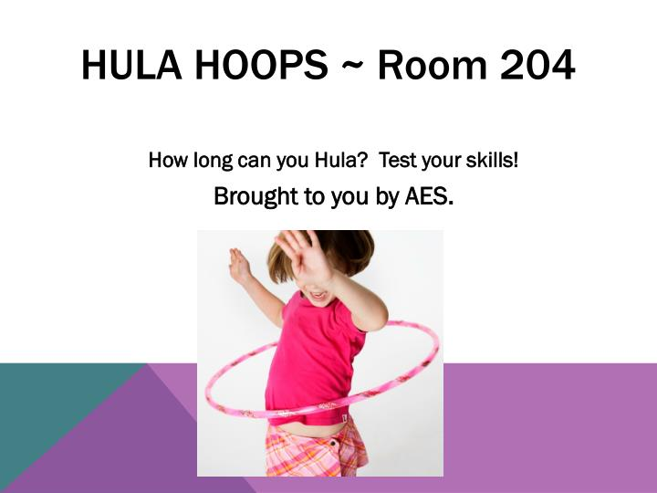 Hula hoops ~