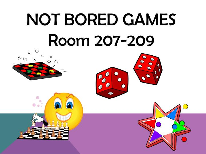 Not Bored Games