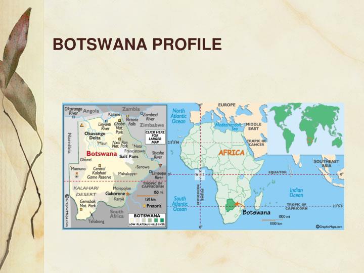 BOTSWANA PROFILE
