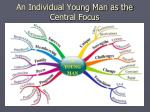 an individual young man as the central focus2