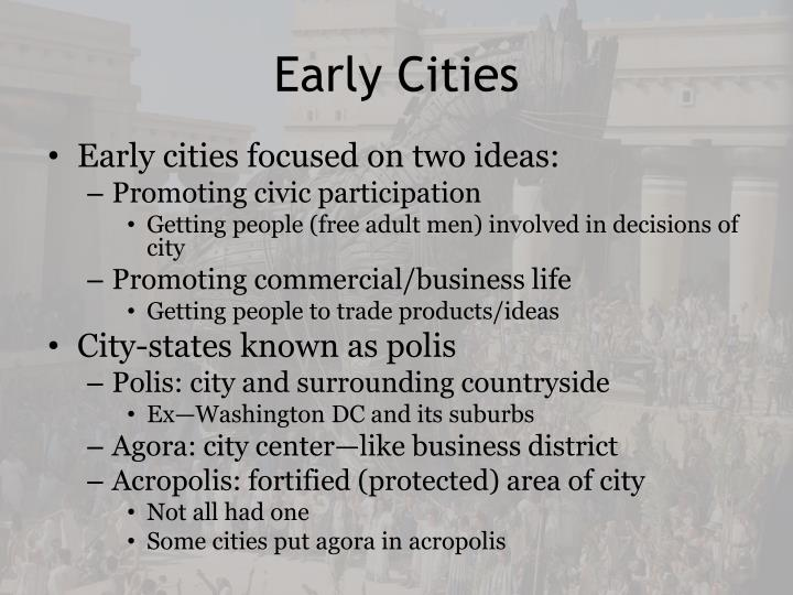 Early Cities