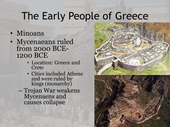 The Early People of Greece