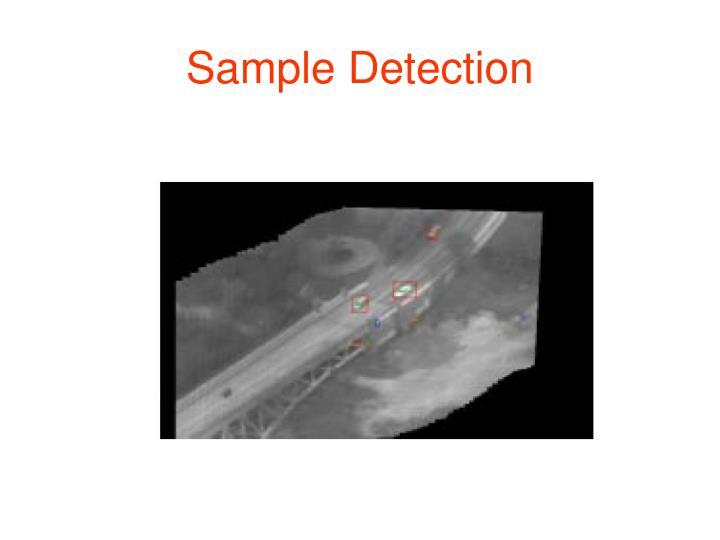 Sample Detection