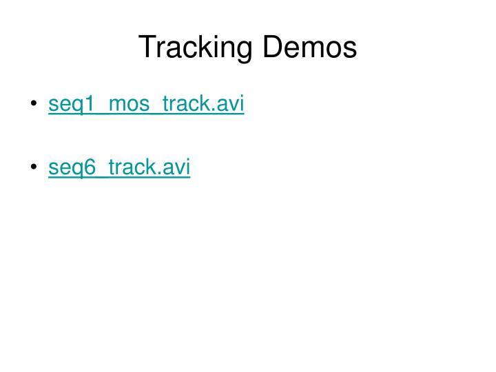 Tracking Demos