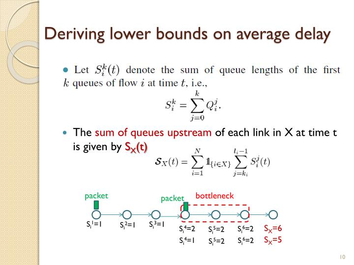 Deriving lower bounds on average