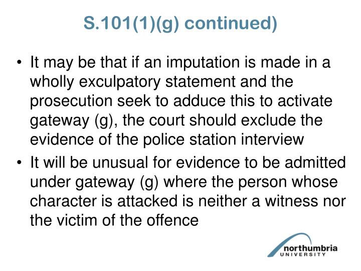 S.101(1)(g) continued)