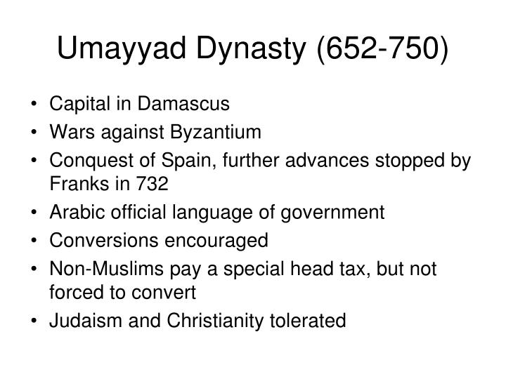 Umayyad Dynasty (652-750)
