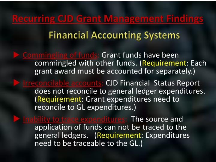 Financial Accounting Systems