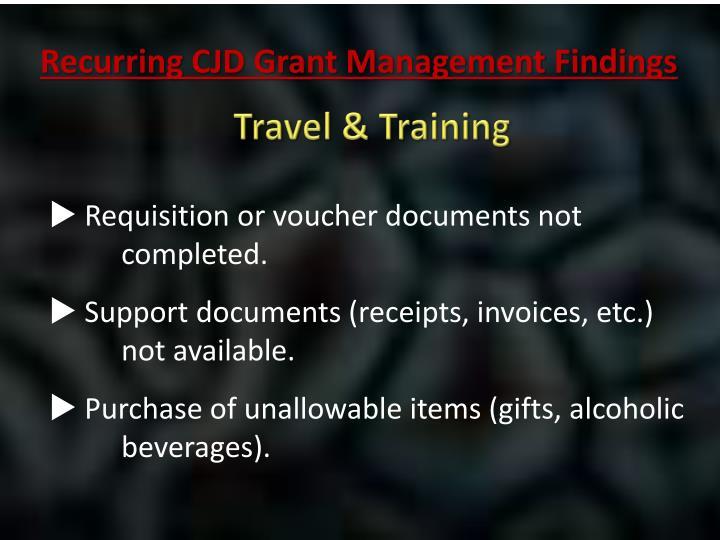 Travel & Training