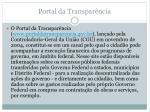 portal da transpar ncia