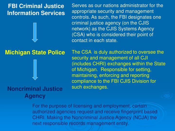 FBI Criminal Justice Information Services