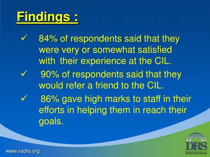 Findings :